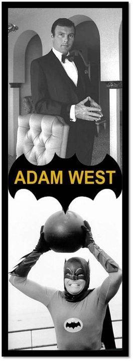 Adam West's Batman aka Bruce Wayne