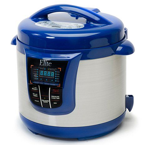 Elite 13-Function 8qt Electronic Pressure Cooker, I have this in red ...