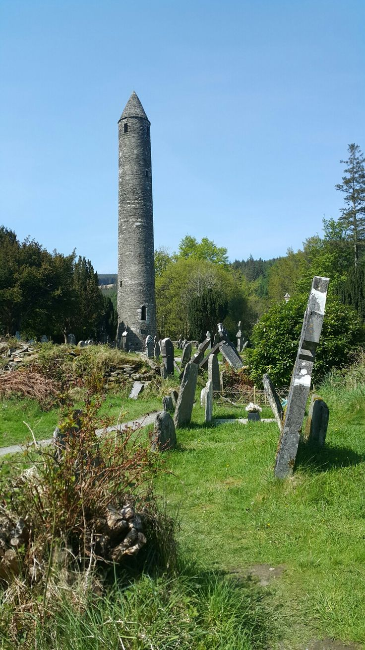 Living history Monasterboice, Ireland
