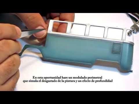 Modelismo: Pintura, sombras y modulado (Nivel intermedio) - YouTube