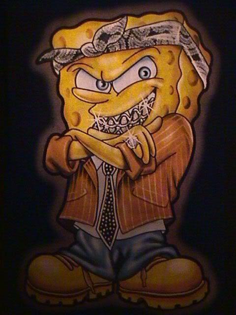 Gangster Spongebob | ... gangsta spongebob