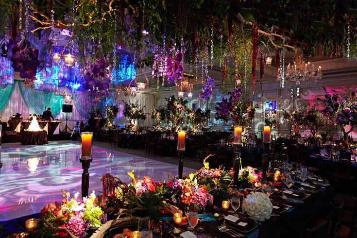 Indoor Dimly Lit Wedding Ceremonies and Receptions - Inside Weddings