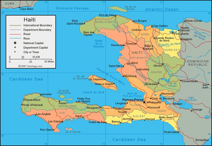 Haiti- I based the kingdom the Abayomi Dynasty rules entirely on Haiti. From the food, religion and culture to geography-It's my fantasy tribute to Haiti.