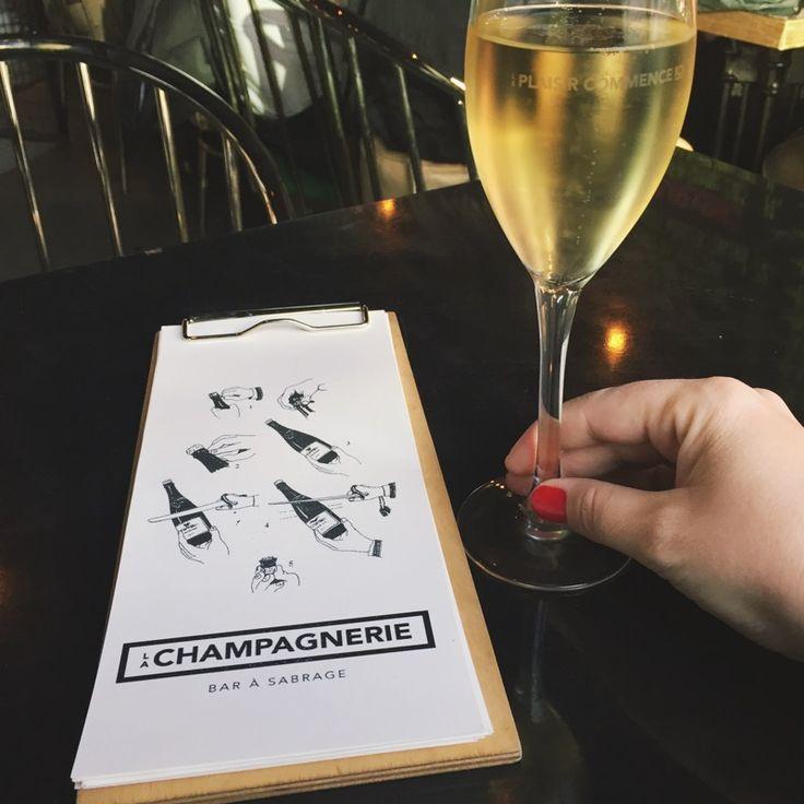 Bar à sabrage et restaurant La Champagnerie