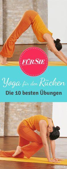 Diese Übungen erleichtern Euer Leben! Yoga bringt Ausgleich für die Seele und den Körper. Lernt Euch mit diesen Übungen zu entspannen.