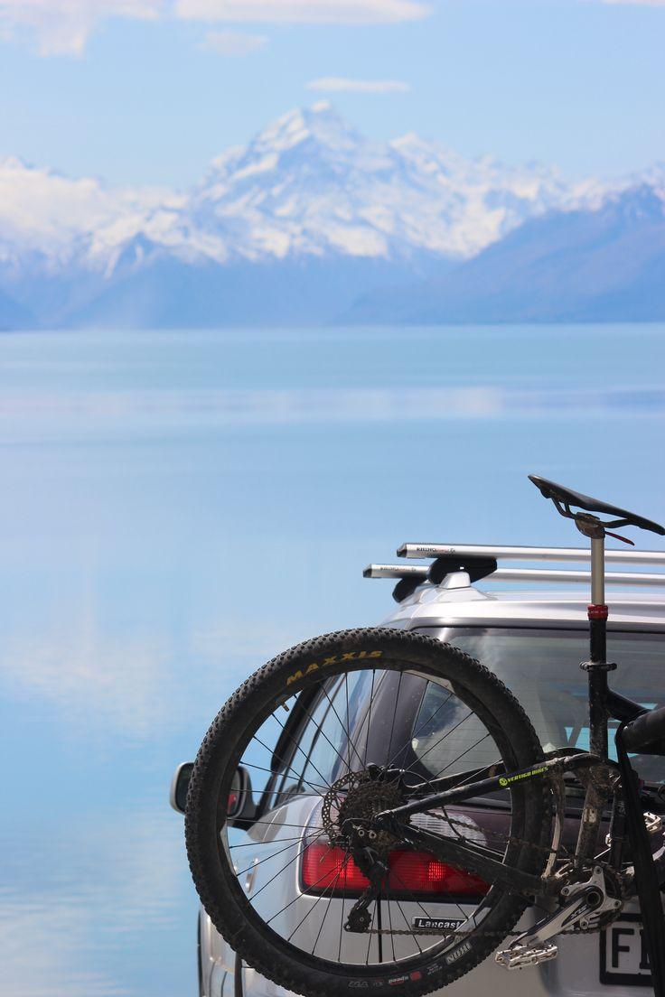 Aoraki Mt Cook and Lake Pukaki in all it's Spring Glory! #UltimateQueenstown #RoadTrip #NewZealand