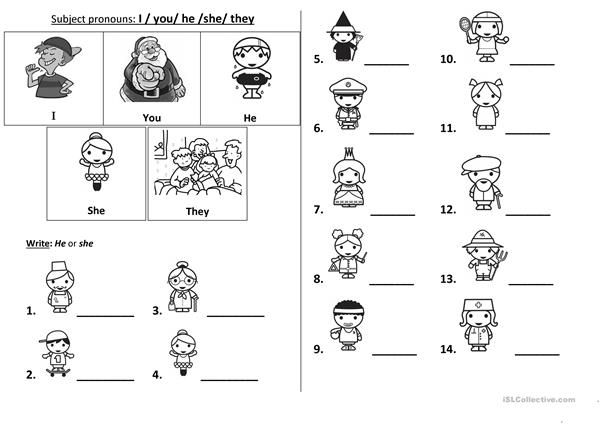 Subject Pronouns Pronoun Worksheets Pronoun Worksheets Kindergarten Personal Pronouns