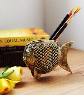 Store your stationery inside a fish!