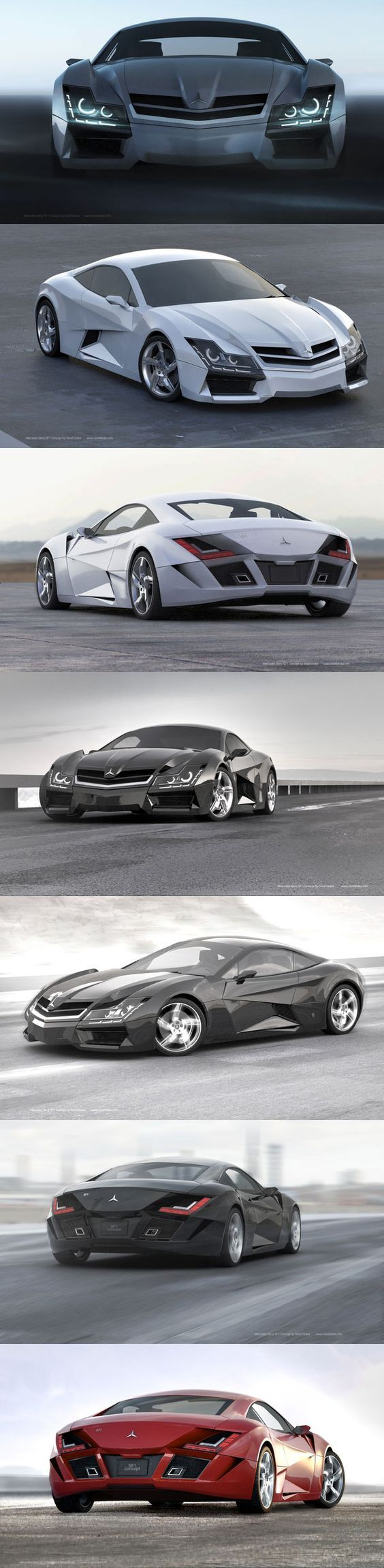 Awesome cars mercedes super car concept cars design and concepts best