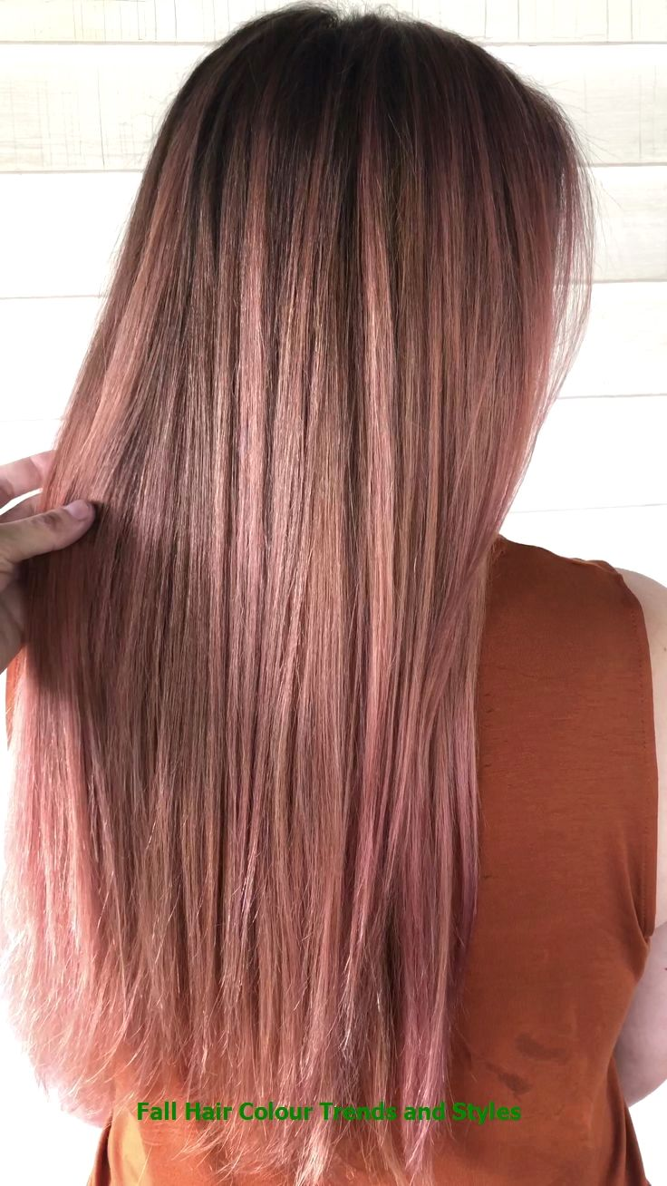 Fall Hair Colour Trends and Styles #hairforwinter