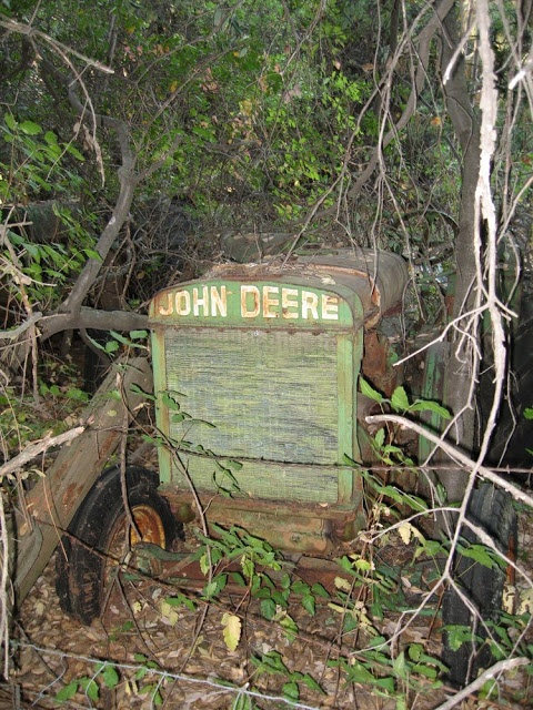 Retired John Deere, Sheepranch, Calaveras County, California, USA
