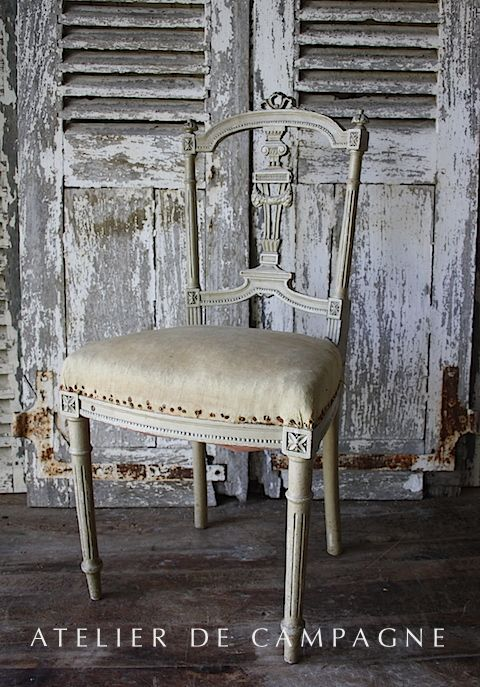 #23/202 Single Louis XVI Chair