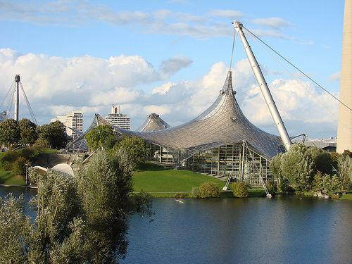 We saw this in the dark. As we pulled into Munich. Munich Olympics  Germany | Munich's Best Attractions - Visit Munich's Best Attractions and ...