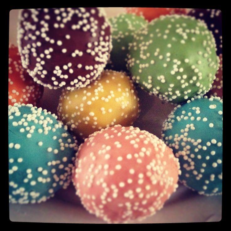 Cake pops, pastel cakepops