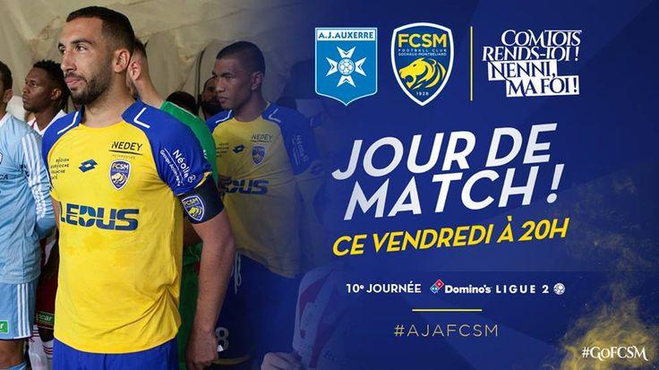 """🦁FC Sochaux-Montbéliard🇫🇷  🦁FC SOCHAUX GREEK FANS🇬🇷 AJ Auxerre-FC Sochaux-Montbéliard⚽️ #MATCH ⚽️🦁 ⚽️🦁📣 Jour de match ! Ce soir à 20h, le FC Sochaux-Montbéliard joue sur la pelouse de l'AJ Auxerre. Un max de """"J'aime"""" pour soutenir votre équipe ?"""