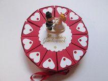 Mini Geschenktorte, Geldgeschenk, Hochzeit