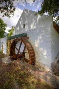 La Motte, Historic Water Mill - still in operation and you can taste the bread baked from the flour milled in the historic water mill and baked in the farm kitchen.