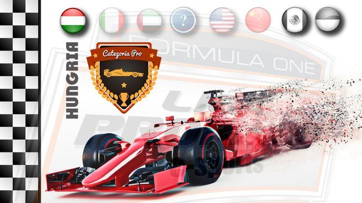 AO VIVO - F1 2016 - GP DA HUNGRIA - CAT. PRO PS4  - LIGA PRORACE E-SPORT...