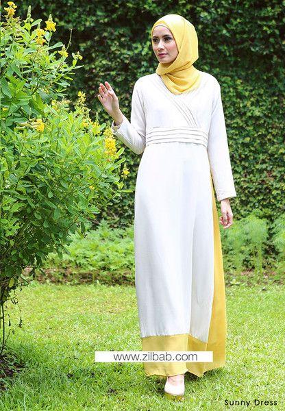 Sunny Dress - Klik gambar untuk melihat detail dan harga produk Juniperlane di website zilbab.com. Hijab, Jilbab, Fashion Hijab, Juniperlane Hijab, Hijabi, Juniper Hijab, Juniper Lane.
