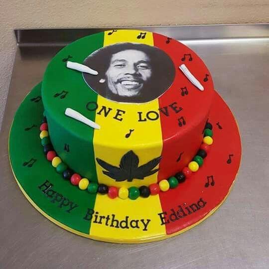 Birthday cake rasta style