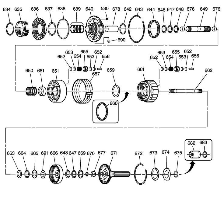Pin 4l80e Parts Blow Up Diagram on Pinterest