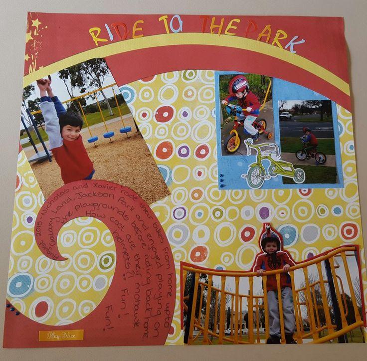 Ride To the Park - Scrapbook.com