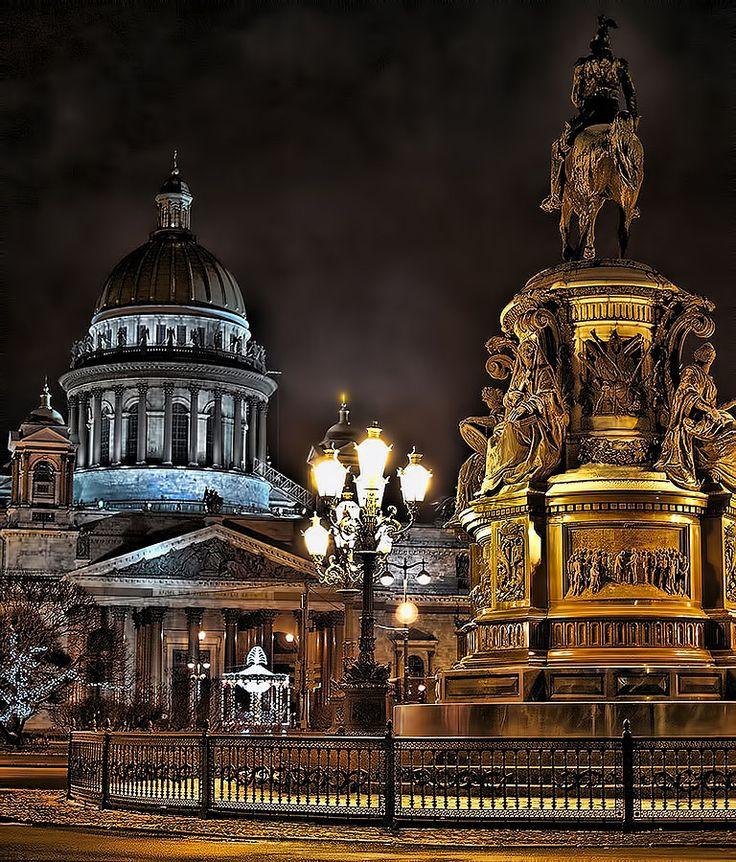 Saint Isaac's Square, Saint Petersburg, Russia