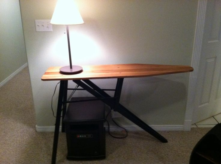 repurposed wood ironing boards | Missy's repurposed ironing board. This was given to me by my MIL when ...