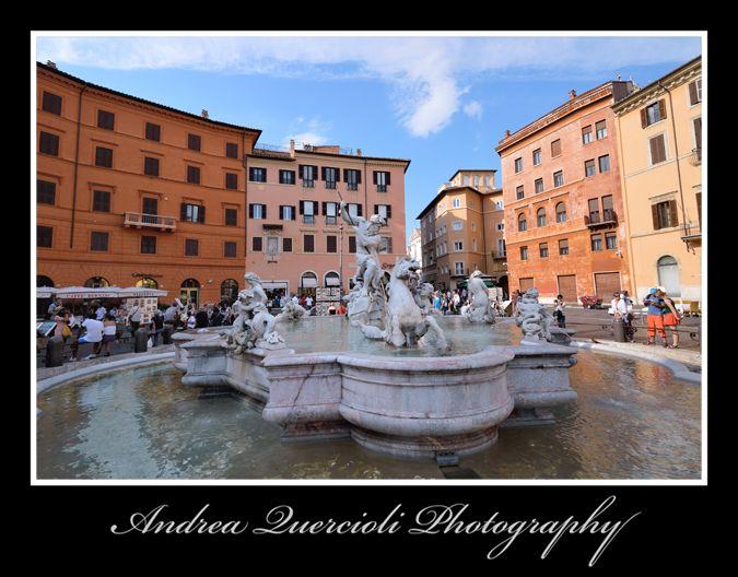 Piazza Navona  Fontana del Moro Roma Italy n 4 by andrea quercioli