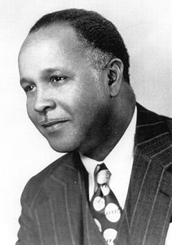 Percy Lavon Julian (April 11, 1899, Montgomery, Al. – April 19, 1975, Waukegan, Illinois) was a US inventor who was the first to perform of chemical synthesis of medical drugs from plants. He was one of the first African Americans listed in the Inventors Hall of Fame and one of the first to receive a doctorate in Chemistry