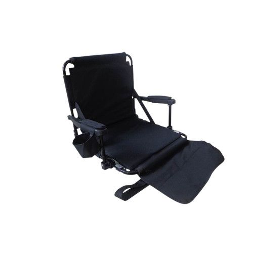 Trademark Innovations Tailgate 360 Stadium Chair with Arm Pads, Cup holder and Bleacher Hooks