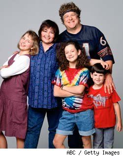 Roseanne the best show ever on tv, until they won the lottery but above all the best lol