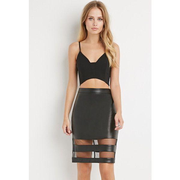 The 25  best Faux leather skirt ideas on Pinterest | Mini skirt ...