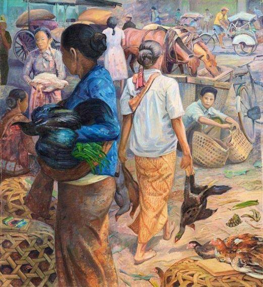 Rustamadji - Penjual Ayam
