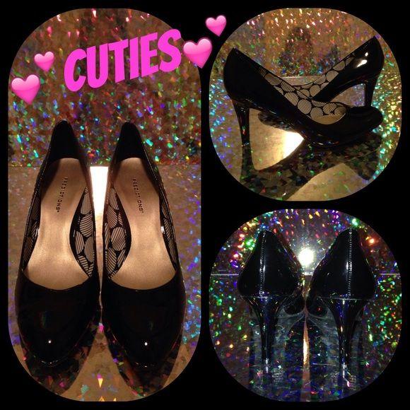 Sale ....Black patent high heels. Black patent high heels. Shoes Heels