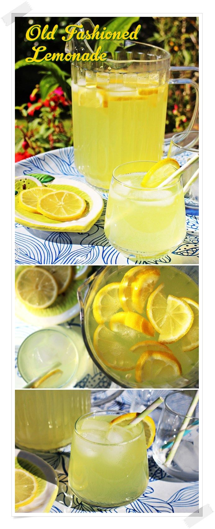Old Fashioned Lemonade - Fab Food 4 All