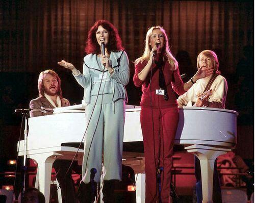 ABBA rehearsal