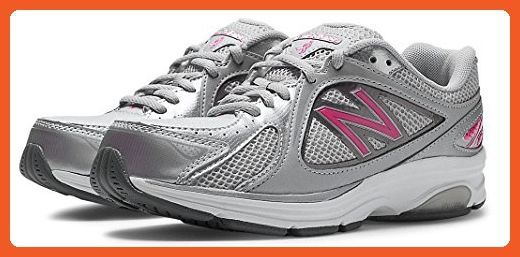New Balance Women's WW847 Health Walking Shoe,Grey/Pink,8 B US - Athletic shoes for women (*Amazon Partner-Link)