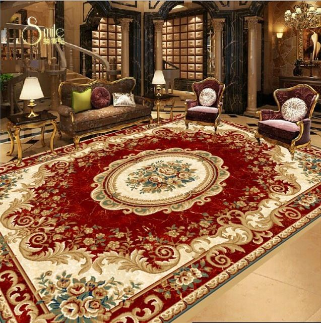 Selecting The Right Carpet Designs Yonohomedesign Com Floor Murals Floor Wallpaper Area Rug Design