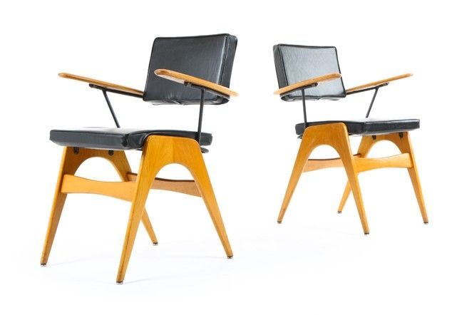 Fred Lowen 'Executive Chairs' - Mr. Bigglesworthy Designer Vintage Furniture Gallery