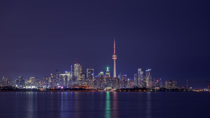 Reflections from the west - Toronto skyline