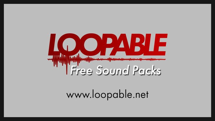 Some Free Sound Packs I've made that you can use in your