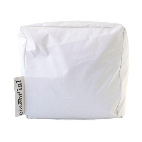 L'Ecopuffo della linea Le Sedute è un prodotto di Essent'ial. Sembra di carta ma è realizzato in fibra di cellulosa lavabile. L'idea nasce dal riciclo dei materiali.