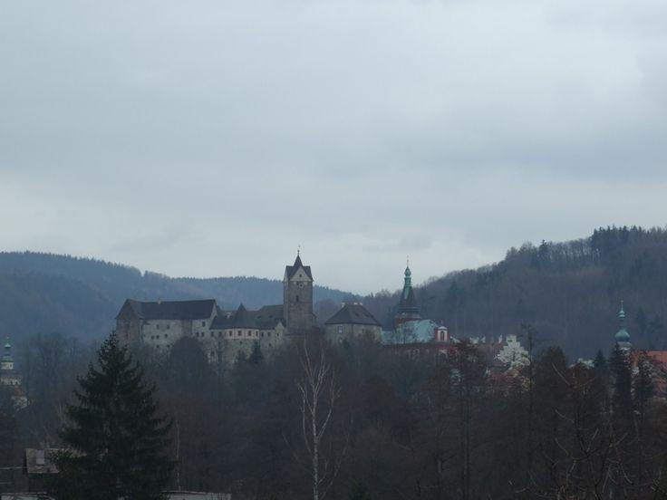castle Loket (distr.Sokolov, west Bohemia)