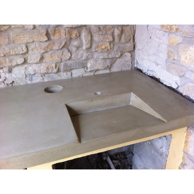 Sinks outdoor and the o 39 jays on pinterest for Outdoor vanity sink