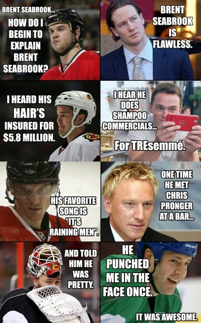 Brent Seabrook...this is a must-read!!!