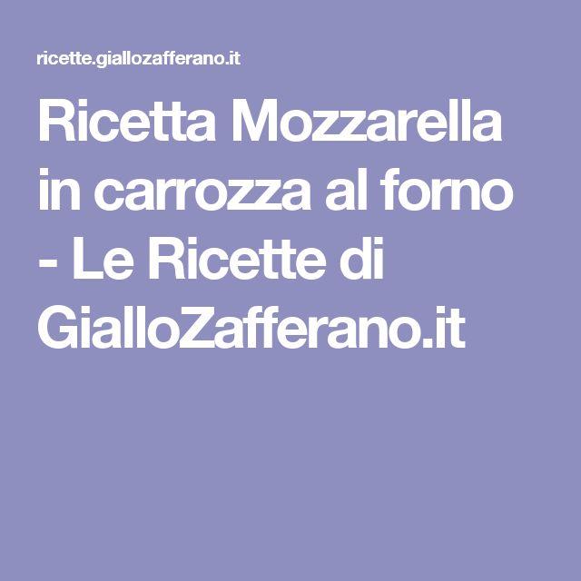 Ricetta Mozzarella in carrozza al forno - Le Ricette di GialloZafferano.it