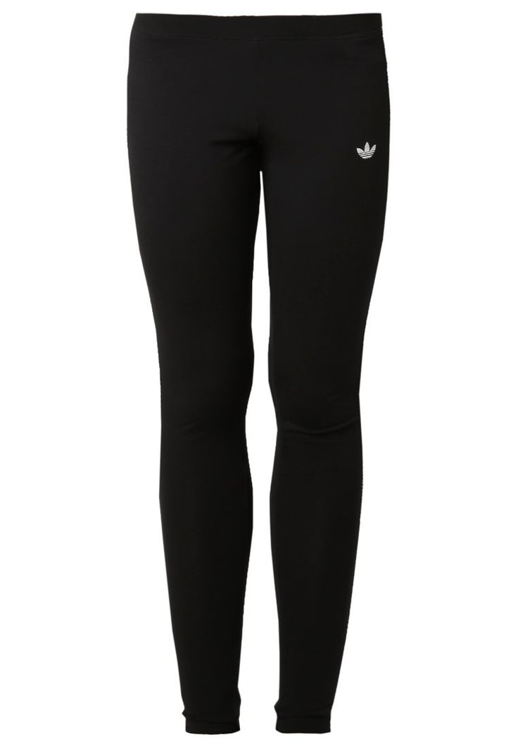 Je draagt het voordat je vriendinnen het hebben? Jouw stijl is steeds actueel en sportief-ongedwongen? Dan mag je de zwarte legging van adidas Originals niet aan je voorbij laten gaan.