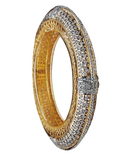 This diamond bangle would compliment all the colors and enhance your hands to the feminine best.