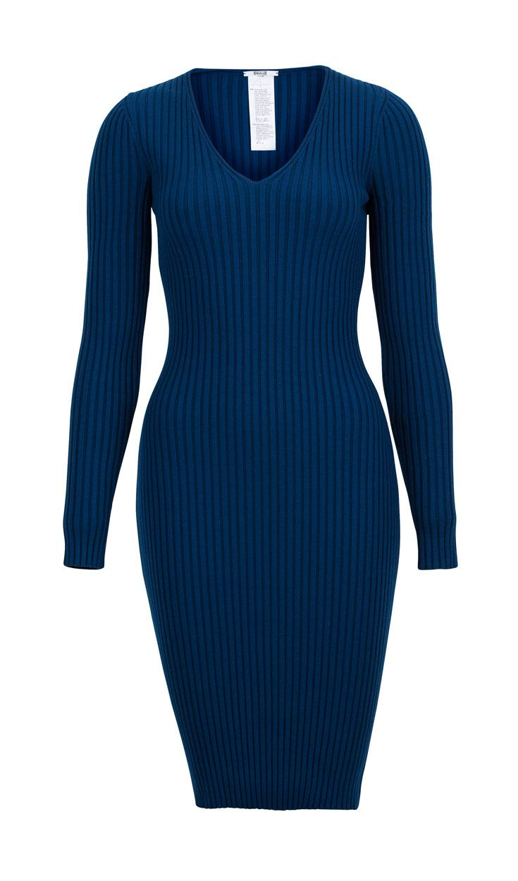 Autumn dream in blue: Brigth #Wolford dress #ParndorfMustHave